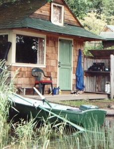 Cabana at St. Mary Lake on Salt Spring Island